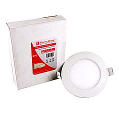 LED панель круглая 6 W диаметр 120 мм ElectroHouse