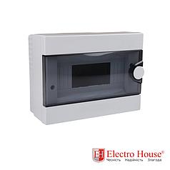 Бокс монтажный накладной на 9 автоматов пластиковый ElectroHouse