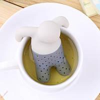 Силиконовый заварник для чая MR. Tea (человечек)