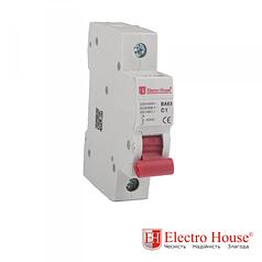 Автоматический выключатель 1 Р 1 А ElectroHouse