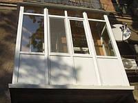 Металлопластиковые балконы Макеевка недорого