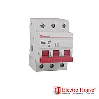 Автоматический выключатель 3 Р 100 А ElectroHouse