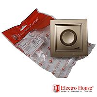 ElectroHouse Диммер роскошно золотой Enzo EH-2115-LG
