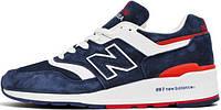 Мужские кроссовки New Balance 997 Navy Red