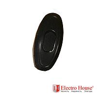 ElectroHouse Выключатель для бра черный Garant
