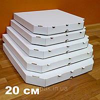 Коробки для пиццы, 200х200х37, белая, фото 1