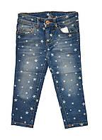 Детские джинсы в звездочки.