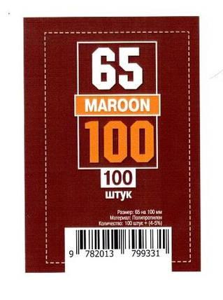Протекторы для карт 100 шт. (65 х 100 мм), фото 2