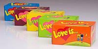 """Жевательная резинка """"Love is""""""""Любовь это"""" 100шт. в ассортименте"""