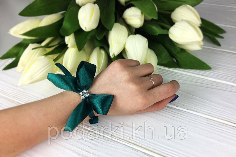 Свадебная бутоньерка для подружек невесты