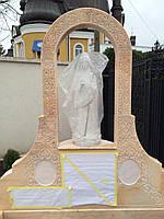 Памятник из розового мрамора, фото 1