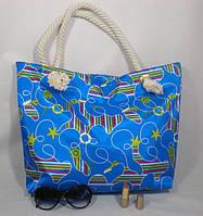 Яркая стильная пляжная сумка для активного отдыха