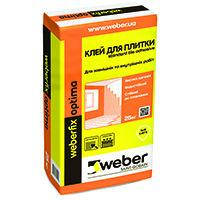Клей для плитки Weber Vetonit Optima 25 кг