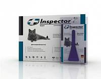 Капли Inspector от 14 внеш. и внутр. паразитов для кошек более 4 кг