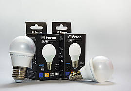 Светодиодная лампа Feron LB-195 7w Е27 / Е14 (аналог:70w лампа накаливания) 2700К / 4000К