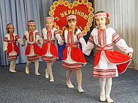 Детский украинский вышитый костюм для девочек. Весна-5