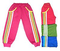 Теплые штаны с лампасами для детей