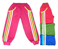 Теплые штаны с лампасами для детей 26 размер