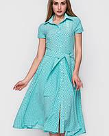 Платье миди в горошек (2260 sk)