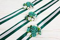 Яркие свадебные браслеты на руку