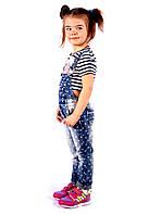 Джинсовый комбинезон для девочки Италия размер 4-14 лет