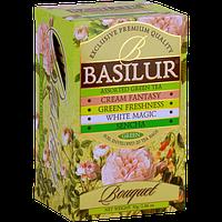 Чай зеленый Basilur Букет Ассорти пакетированный 20х1,5г