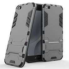 Чехол накладка силиконовый Armor Shield для Xiaomi Mi 5c серый