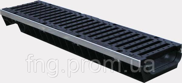 Комплект: пескоуловитель Лайт ЛВ -10.11,5.32- пластиковый  с решеткой пластиковой кл.А