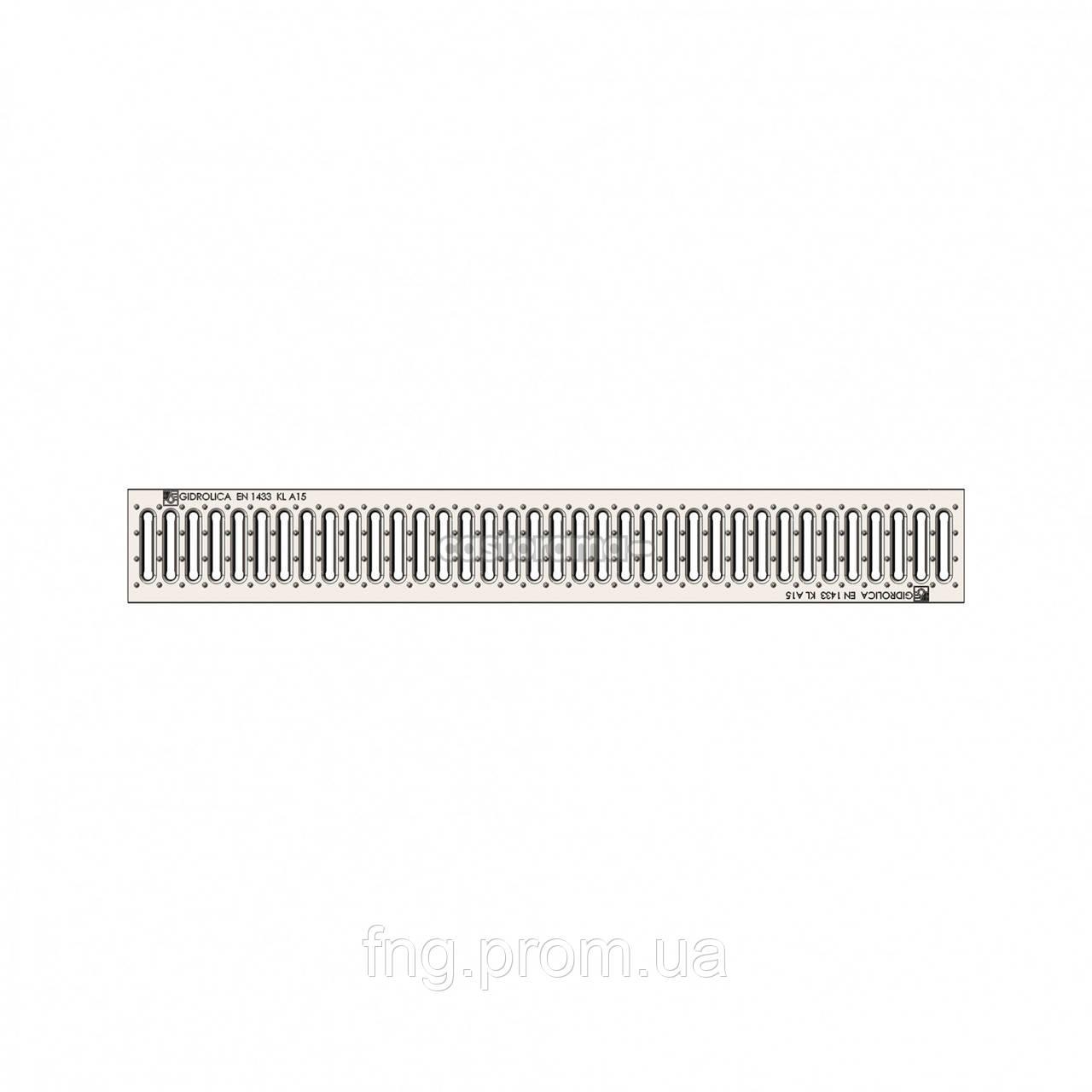Решетка водоприемная РВ -20.24.100- ячеистая стальная оцинкованная
