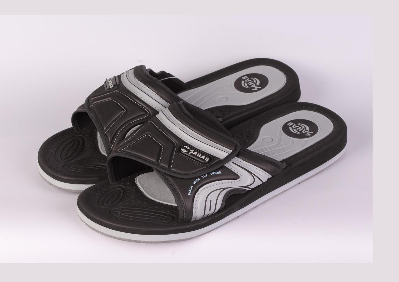 9cdae2d35687 Шлепки Sahab . Арт. 15 чер/с 40 размер: продажа, цена в Николаеве. сандалии  и шлепанцы ...
