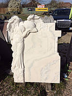 Мраморное надгробье Ангел