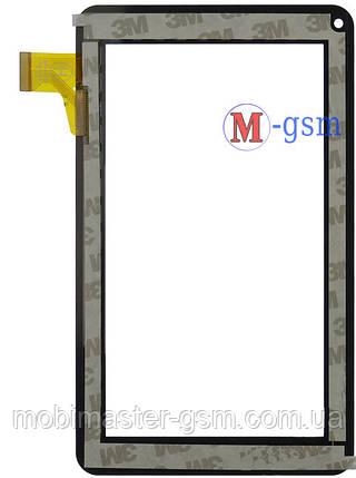 "Тачскрин (сенсорный экран) 7"" Assistant AP-700, AP-710, AP-711, AP-715 (p/n: TPT070-134, FM700405KD) черный, фото 2"