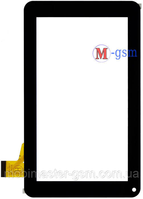 "Тачскрин (сенсорный экран) 7"" Assistant AP-700, AP-710, AP-711, AP-715 (p/n: TPT070-134, FM700405KD) черный"
