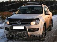 Дефлектор Фольксваген Амарок (мухобойка на капот Volkswagen Amarok)