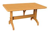 Стол прямоугольный пластиковый Irak Plastik 80x140 тик