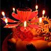 Раскрывающаяся свечка: цветок лотоса!