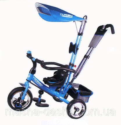 Детский трехколесный велосипед Turbo Trike М 5362-2, фото 2