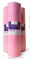 Арт. Простыня ТМ МОНАКО однораз. в рулоне, розовая, 0,8мx100м
