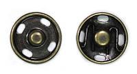 Кнопка пришивная D12 мм металл (антик)