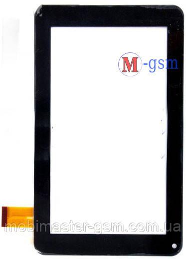 """Тачскрин (сенсорный экран) 7"""" L7 (p/n:E-C7109-01) черный"""