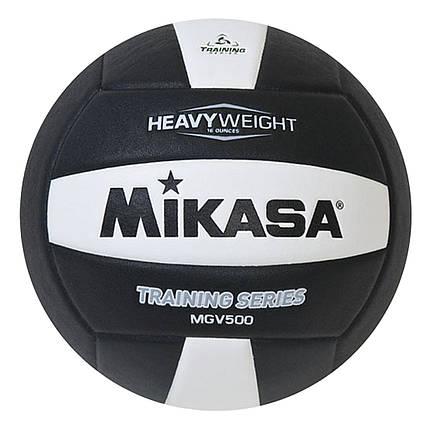 Волейбольний м'яч Mikasa MGV 500 WBK, фото 2