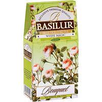 Чай зеленый Basilur Букет Белое волшебство картон 100г