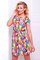 Яркий женский сарафан Light FashionUp 42-48  размеры