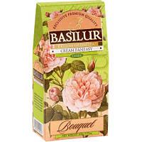 Чай зеленый Basilur Букет Кремовая фантазия картон 100г