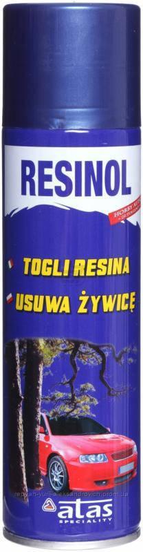 Очиститель древесной смолы ATAS Resinol 250мл.