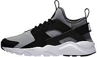 Мужские кроссовки Nike Air Huarache Run Ultra Wolf Grey/White/Black