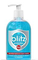 "Рідке мило ""BLITZ"" Антибактеріальне, Яблуко, 0,5кг, пет.пл.дозатор, 15шт."