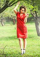 Женское платье прямого кроя