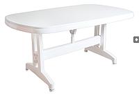Стол пластиковый Irak Plastik Oval 90x150 белый