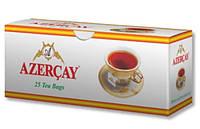 """Чай """"Азерчай"""" черный ароматом Бергамота, 25ф/п"""